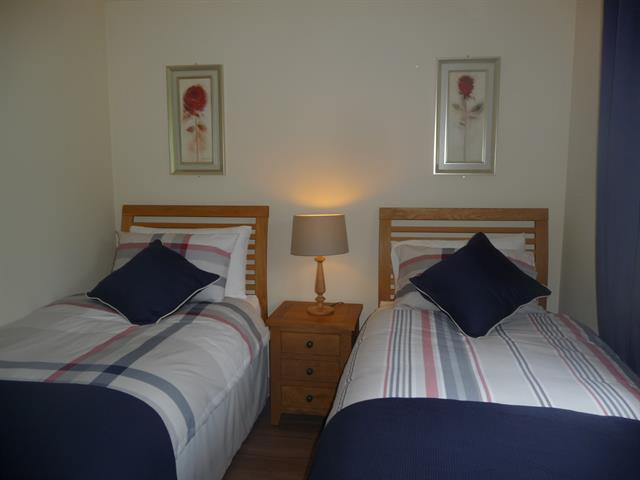 The twin bedroom at Ard Luing, Tobermory